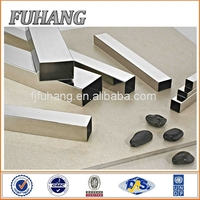 6m or customize 201 stainless steel welded square pipe