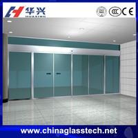 Easy installation exterior latest style 6/8/10 mm tempered opaque glass upvc garage door panel
