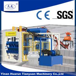 China factory direct supply machine QTY10-15 hydraulic pressed cement brick making machine earth block forming machinery price