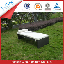 Long style bali day bed , costco rattan outdoor furniture in chinese