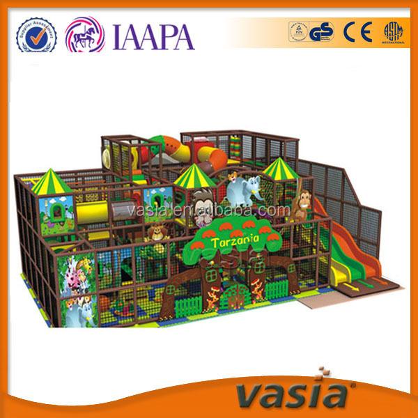 Parque de atracciones zona infantil de juegos comercial utilizado caja de seguridad interior zona