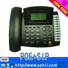 High quanlityRadiationless Business SIP phone suit for office IP phone Model 060 voip phone supports SIP Protocol voip telephone