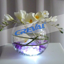 Submersible battery powered candle led lights for wedding favors