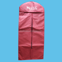 clear suit cover , plastic garment bags, dress bags with zippers