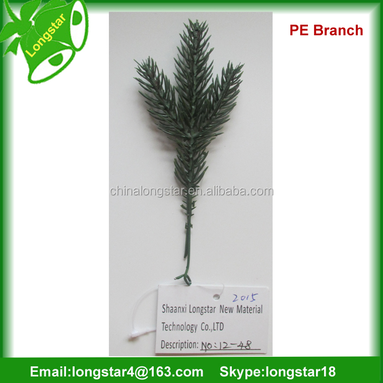 Artificial tree branch for christmas decoration pine