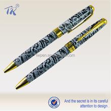 Office School Stationary Promotional Metal Pen Logo Full Print Pen