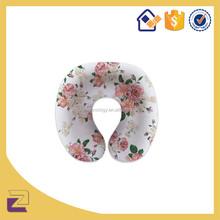 Fashion U Shaped Cushion Pillow Foam Headrest Airplane Car Flight Soft Nursing Cushion Travel Pillow Neck Pillow Multicolor