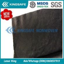 black spunlace nonwoven made by black polyester fiber black viscose fiber for facial mask