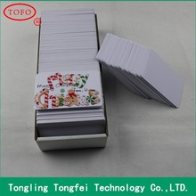 CR80 Blank Inkjet PVC ID card For Epson and Canon Printer, Double Coating Card