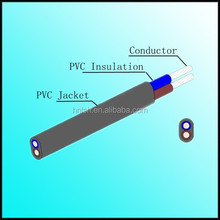 PVC Insulated and sheath low smoke zero halogen flat electrical cable supplier