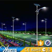 Saving money solar panel for street light with LED light source (AN-SSL-80w/280w/8m)