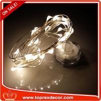 Christmas fashion IP65 warm white led light with candle box