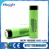IN STORE NCR 18650 battery cell 3.7V 3400mah lithium rechargeable battery new 18650 battery NCR18650B