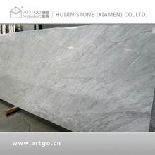 Competitive Price Carrara white marble slab for counter top ( carrara white countertop )