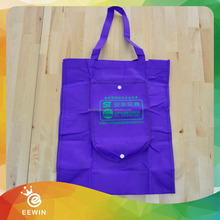 Shopping Full Color Customized 420D Wholesale Polyester Foldable Bag