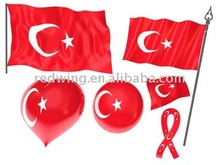 2012 Turkey National Country Car Flags