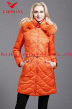 down fashion shiny winter fox fur women clothes China online shopping
