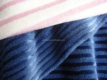 shining yarn coral fleece