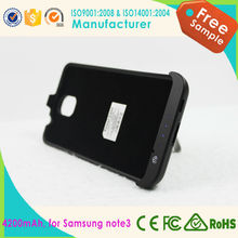 shenzhen electronics 2015 products wholesale cell phone case external battery case for samsung galaxy note 3