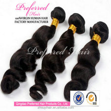 best selling products 100% malaysian loose wave natural virgin hair weaving weft