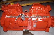 Kawasaki Hydraulic Pump K3V112DT, Rotary Pump and Piston Pump Assembly