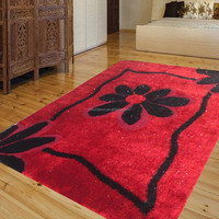 3d wall-to-wall shaggy polyester best-selling public area rug