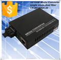 10/100/1000tx/fx sobre ethernet de fibra óptica convertidor de medios de comunicación, 2km, sc, de fibra óptica de la creación de redes