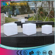 40cm RGB Color Change Night Club, Party LED Cube,waterproof led cube chair