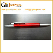 Fancy Clear Plastic High Quality Cheap Feature Personalized Ball Pen