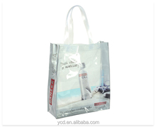 YCD New Style Double Handle PVC Shopping Bag