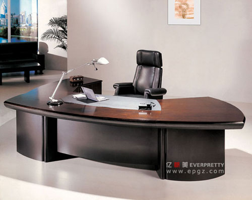 fancy l shape office executive table with side cabinet office