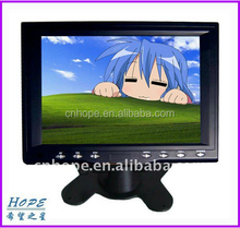 8 inch Touch Screen Monitor with VGA/DVI/USB/Speaker option