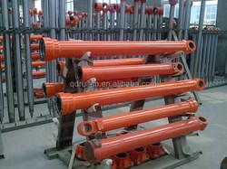 Telescope Hydraulic Ram , Machinery and Truck Telescopic Hydraulic Cylinder OEM