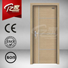 Front door mdf steel pvc door