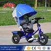 Steel frame EN71 baby lexus trike / fashionable stroller baby pram tricycle / three wheels kids tricycle with wagon