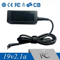 High Efficiency 40W 19V 2.1A Notebook Adapter