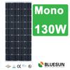 Home use BlueSun mono solar panel korea 130W
