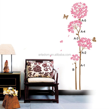 Vinyl living room decorative large size wall sticker
