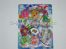 Promotional kids wind up plastic spinning top crochet tops for kids