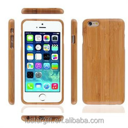 New Natural Real Bamboo Wood Wooden Hard Case Cover for iPhone 6 / 6 plus