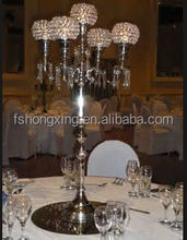 C311 wholesale glass candelabra wedding favor