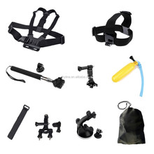 New Business Ideas ODM/OEM New Electronic Items Go pro Heros 4 Accessories Sets Looking for Investor Top Sellers 2015