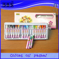 color oil pastel children drawing set for 18 pcs/set