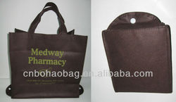 reusable fold-up non woven bag