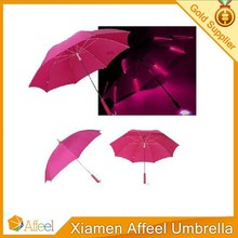 LED Luminous Umbrella Creative Long-handled Rain Sun Umbrella for gift