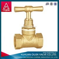 TMOK new coming ppr brass needle type angle stop valve