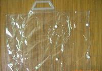 Transparent pvc bag pvc plastic packaging bag for blanket pvc button bag