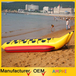 summer PVC inflatable toys/inflatable banana boat/inflatable flying fish price