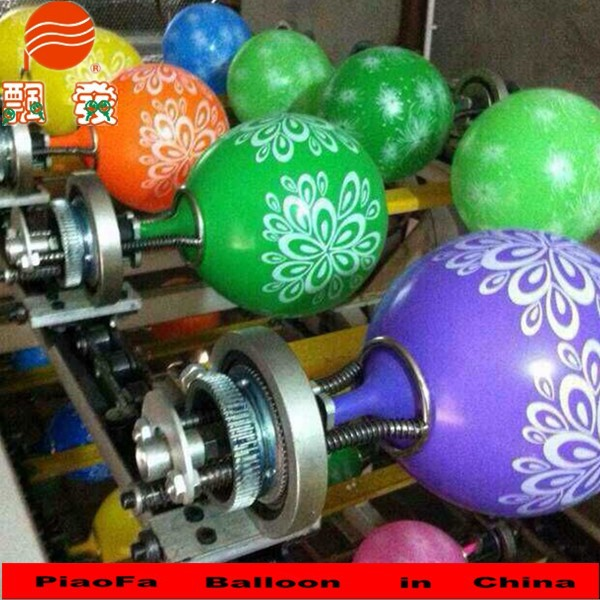 Multicolor silk printing balloon printing machine buy for Balloon decoration machine