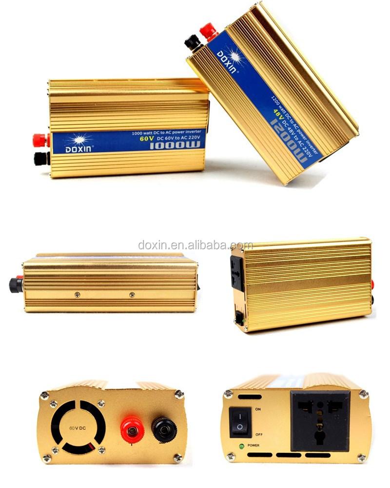 Fashionable inverter dc to ac 48volt in car motor inverter 300 watt to 1200 watt